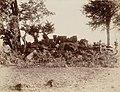 Ruins of Hindu temple, Parol, Thane District Maharashtra 1898 photo.jpg