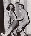 Russ Tamblyn and Gia Scala 1957.jpg
