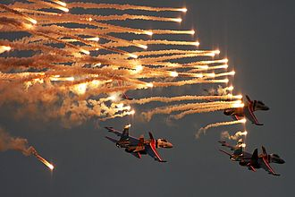 Russian Knights - Russian Knights at Igor Tkachenko tribute flight