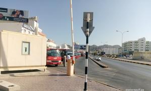 Ruwi - bus station