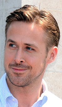 A photograph of Ryan Gosling at the 2014 Cannes Film Festival