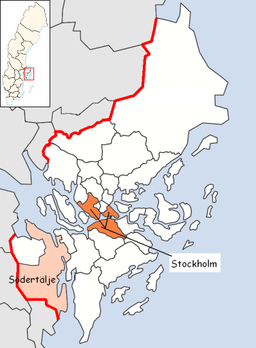 Södertälje Municipality in Stockholm County.png