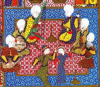 Music of Turkey - Image: Süleymanname ottoman ensemble (1530)