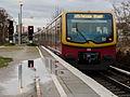 S-Bahnhof Yorckstraße nach dem Regen 20141222 1.jpg