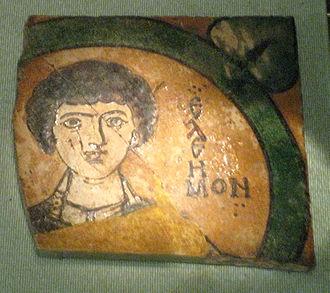 Nicomedia - Image: S. Pantaleon from Nicomedian catacomb (10 11 c., GIM) by shakko