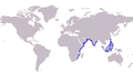 S. chondropus distribution map.png