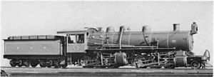 1910 in South Africa - SAR Class MB