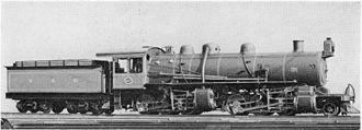 2-6-6-0 - SAR Class MB Mallet
