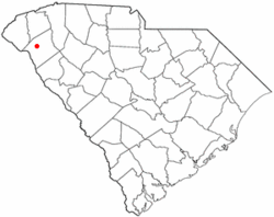 Location of Northlake, South Carolina