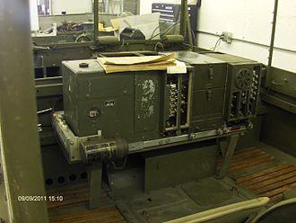 M29 Weasel - SCR-508 Radio mounted in weasel