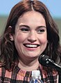 SDCC 2015 - Lily James (19724831685) (cropped).jpg