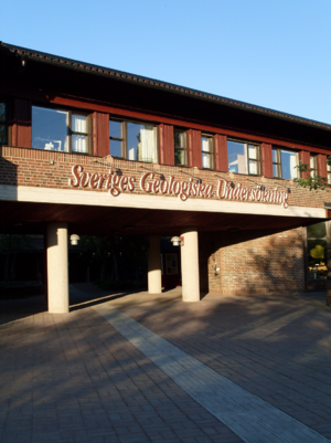 Geological Survey of Sweden - Swedish Geological Survey, Uppsala