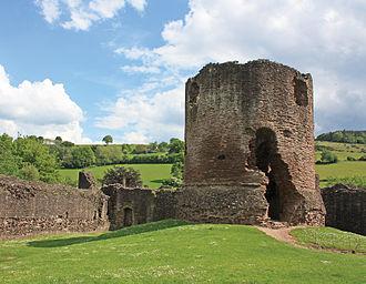 Skenfrith Castle - Image: SKENFRITH CASTLE