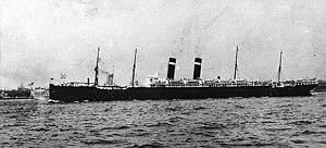 SS Finland (1902) - SS Finland underway in a U.S. port before World War I.