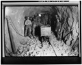 STRAWBERRY TUNNEL, HEADING CREW, CA. 1907. - Strawberry Valley Project, Payson, Utah County, UT HAER UTAH,25-PAYS,1-10.tif