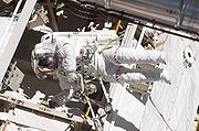 STS132 EVA2 Mike Good1