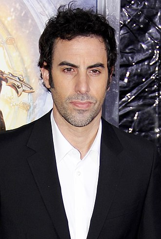 Sacha Baron Cohen - Baron Cohen at the premiere of Hugo in 2011