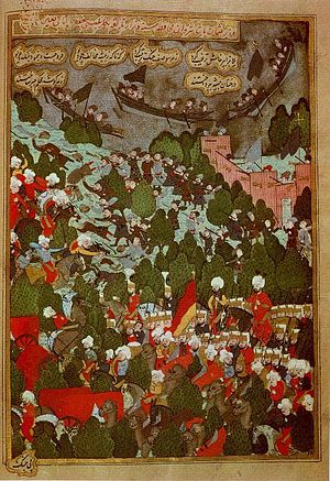 Cossacks - Ottoman Turks in battle against the Cossacks, 1592