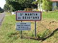 Saint-Martin-de-Seignanx city limit sign.JPG