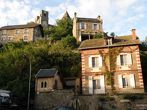 Saint-Nectaire - The village of Saint-Nectaire