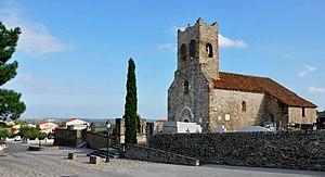 Montesquieu-des-Albères - Romanesque church Saint-Saturnin de Montesquieu-des-Albères, 12th ctry.