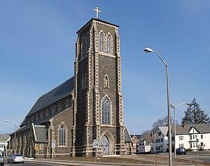 St. Mary's Complex (Taunton, Massachusetts) - Image: Saint Mary Taunton