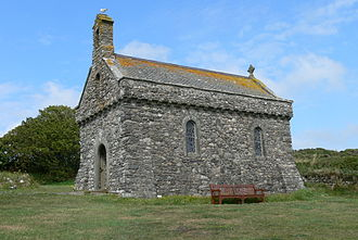 Saint Non - Chapel of Our Lady and Saint Non, Pembrokeshire, built 1934.