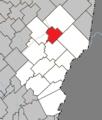 Sainte-Sabine (Chaudière-Appalaches) Quebec location diagram.png