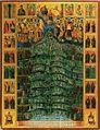 Saints of Mount Athos Icon in Romanian Skete Genadiy Monah 1859.jpg