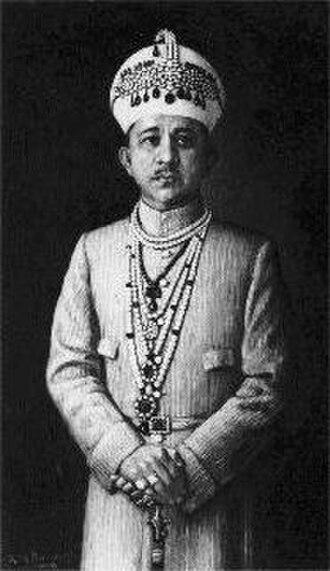 Mir Yousuf Ali Khan, Salar Jung III - Image: Salarjungiii