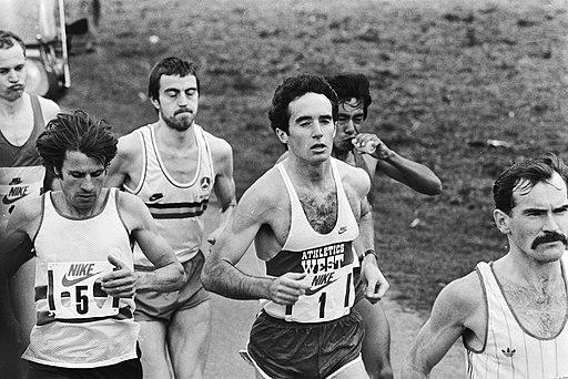 Salazar (nr. 1) in actie, links naast hem Rodolfo Gómez, winnaar in 1982, Bestanddeelnr 932-5566