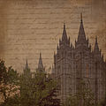 Salt Lake Temple with faded words Digital Scrapbook paper.jpg