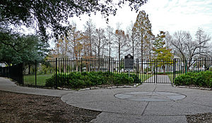 Sam Houston Park - Main Entrance to Sam Houston Park