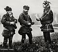 Sami men exchanging Tobacco Lyngen, Troms, Norway.jpg