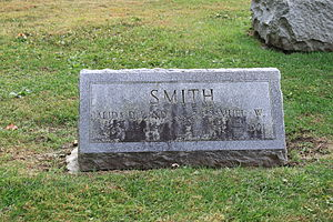 Samuel William Smith - Smith grave