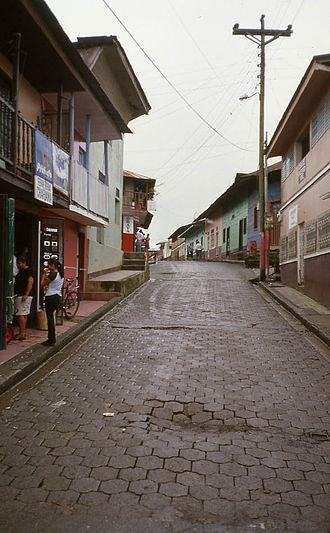 San Carlos, Río San Juan - Image: San Carlos Calle