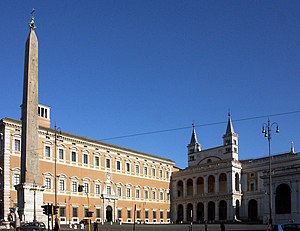 Lateran - Basilica and Palace - side view