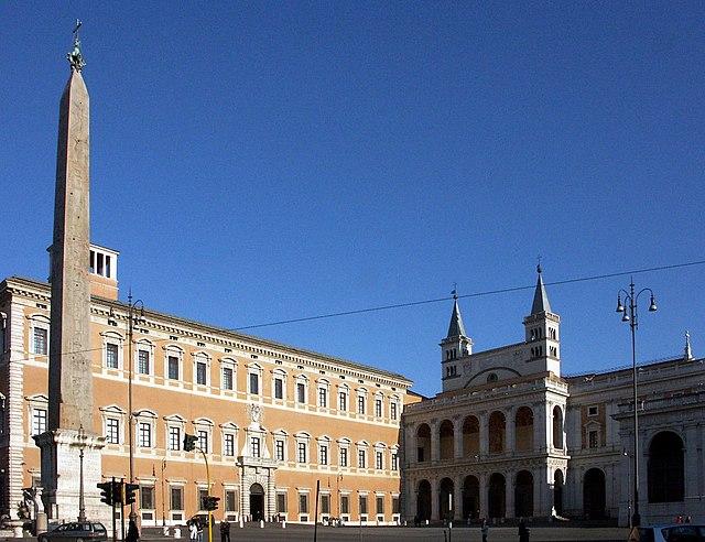 San Giovanni in Laterano - Seitenansicht