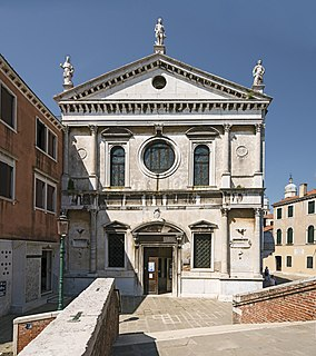 16th-century Roman Catholic church in Venice, Italy