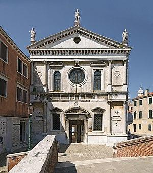 San Sebastiano, Venice - Facade