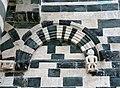 San michele di murato, facciata, con rilievi del 1140 ca. 14.jpg