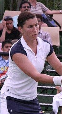 Sandra Kloesel 2007 Australian Open womens doubles R1.jpg