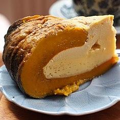 List of custard desserts wikipedia coconut custard is a dessert dish consisting of a coconut custard steam baked in a pumpkin or kabocha forumfinder Choice Image
