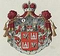 Sanguška, Pahonia-Kalumny. Сангушка, Пагоня-Калюмны (1882).jpg