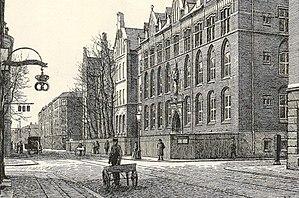 Griffenfeldsgade - Griffenfeldsgade in the 1890s