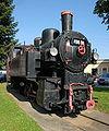 Sankt Veit an der Glan main station steam locomotive 05092008 21.jpg