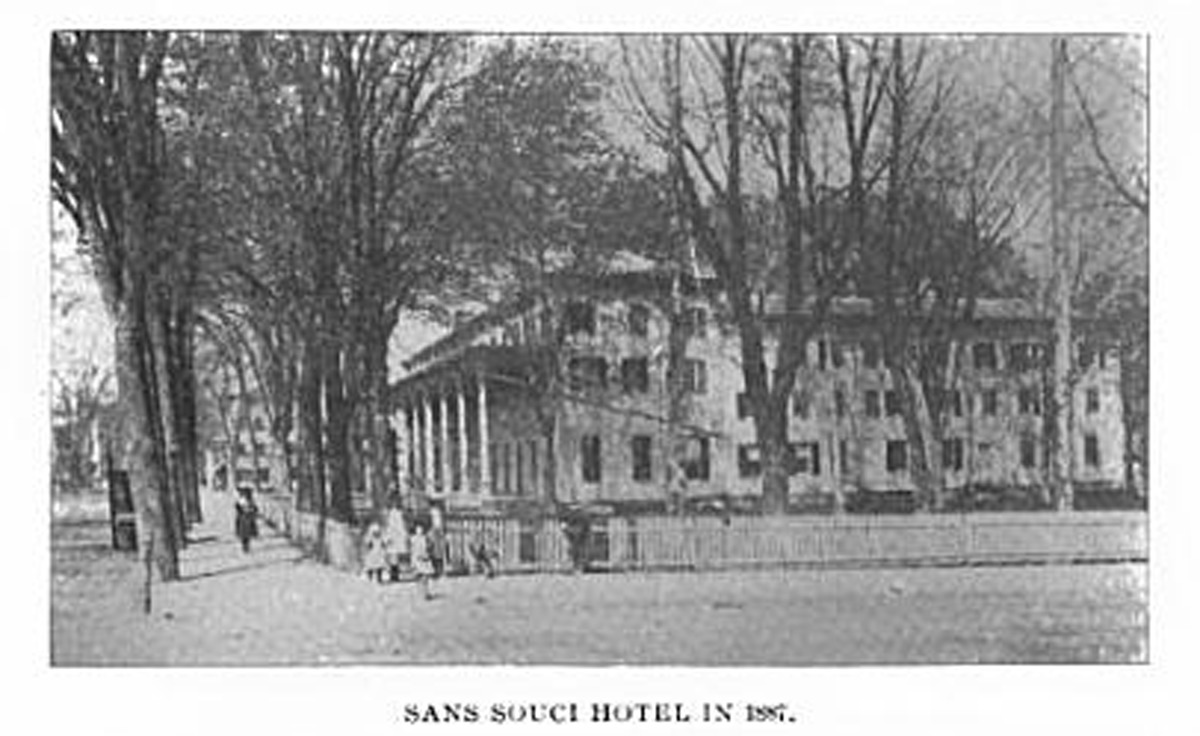 Sans Souci Hotel Ballston Spa