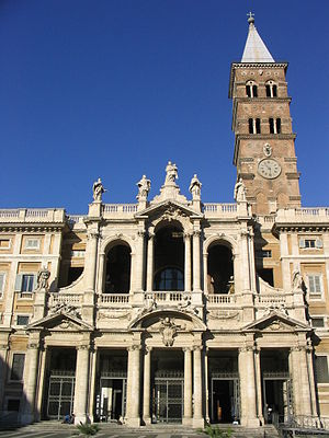 Catholic Marian church buildings - Santa Maria Maggiore, the first Marian church in Rome