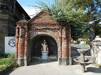 Santa Monica Parish Church (Minalin) - Santo Nino, 4th of the Capillas posas