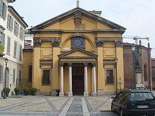 Santa Maria Podone church in Milan, Italy